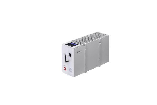 N2406B - wiszący energooszczędny grzejnik elektryczny NOGEN o mocy 600W przeznaczony do pomieszczeń powierzchni 8m2 i kubaturze nie większej niż 20m3.