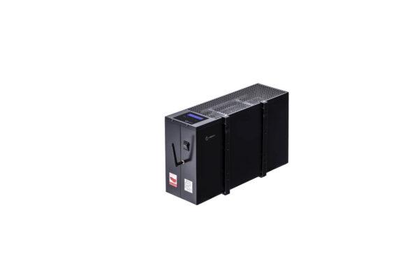 N2406G - wiszący energooszczędny grzejnik elektryczny NOGEN o mocy 600W przeznaczony do pomieszczeń powierzchni 8m2 i kubaturze nie większej niż 20m3.