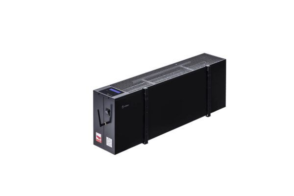 N2806G - wiszący energooszczędny grzejnik elektryczny NOGEN o mocy 600W przeznaczony do pomieszczeń powierzchni 12m2 i kubaturze nie większej niż 30m3.