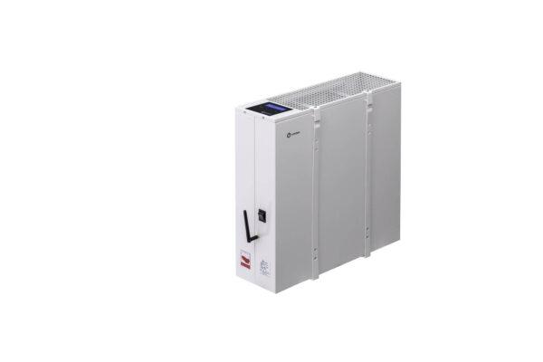 N4410B - wiszący energooszczędny grzejnik elektryczny NOGEN o mocy 1000W przeznaczony do pomieszczeń powierzchni 18m2 i kubaturze nie większej niż 45m3.
