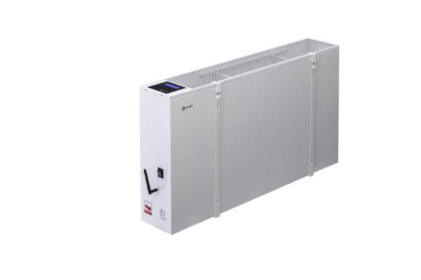 N4815B - wiszący energooszczędny grzejnik elektryczny NOGEN o mocy 1500W przeznaczony do pomieszczeń o powierzchni 30m2 i kubaturze nie większej niż 75m3.