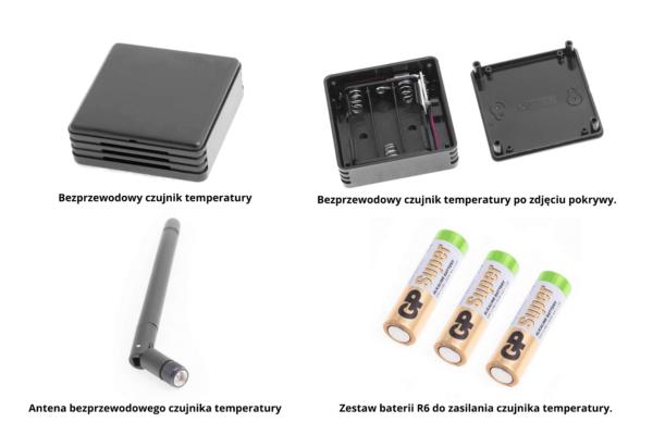 Zestaw czujnika bezprzewodowego do grzejnika NOGEN. Standardowe wyposażenie grzejnika NOGEN (dostępny w wersji wiszącej oraz mobilnej).